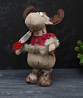 Текстильная игрушка-подарок олень большой, фото 1