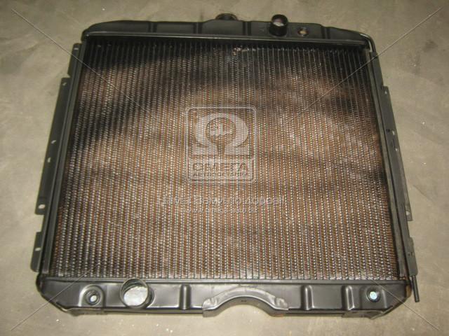 Радиатор водяного охлаждения ГАЗ 53 (3-х рядн.) (141.1301010-01) (пр-во г.Бишкек), 53-1301010
