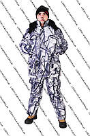 Зимний костюм для рыбалки или охоты Белый Снег  -25С