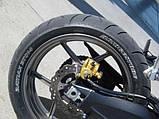 Білий маркер для шин мотоцикла, скутера, автомобіля, велосипеда, фото 4