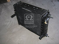 Радиатор водяного охлаждения МТЗ 1025 (4-х рядн.) алюм.(пр-во JOBs,Юбана), 1025-1301010B