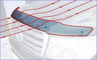 Дефлектор капота (мухобойка) HONDA Passport с 1998–2002 г.в.