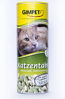 Витаминизированное лакомство Джимпет (Gimpet) для кошек с морскими водорослями и биотином 710 таб