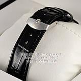 Чоловічі наручні годинники Emporio Armani Quartz Gold Black Емпорио Армані якісна преміум репліка, фото 3
