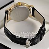 Чоловічі наручні годинники Emporio Armani Quartz Gold Black Емпорио Армані якісна преміум репліка, фото 4