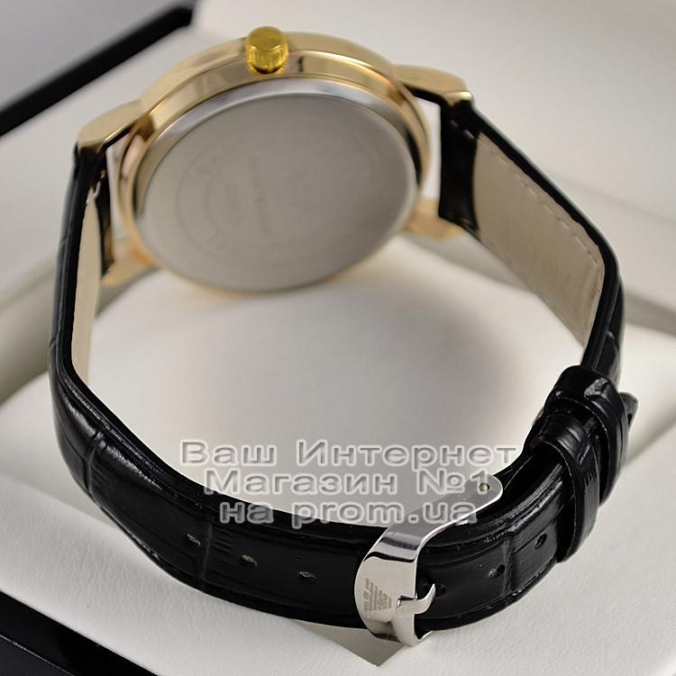 fcdec0a3 ... Мужские наручные часы Emporio Armani Quartz Gold Black Емпорио Армани  качественная премиум реплика, фото 4