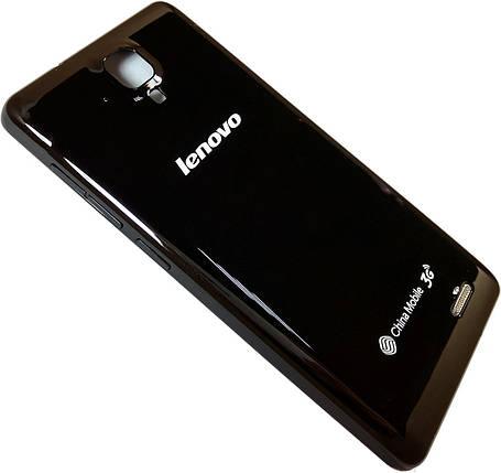 Задня кришка Lenovo A536 black , змінна панель ленів а536, фото 2