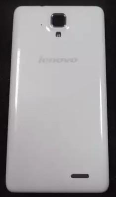 Задняя крышка Lenovo A536 white, сменная панель