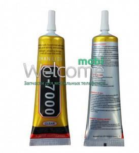 Клей силиконовый T7000, 110 мг в тюбике с дозатором чёрного цвета, фото 2