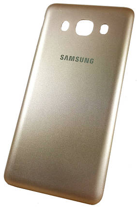 Задняя крышка Samsung Galaxy J5 (J510H, 2016) gold, сменная панель самсунг, фото 2