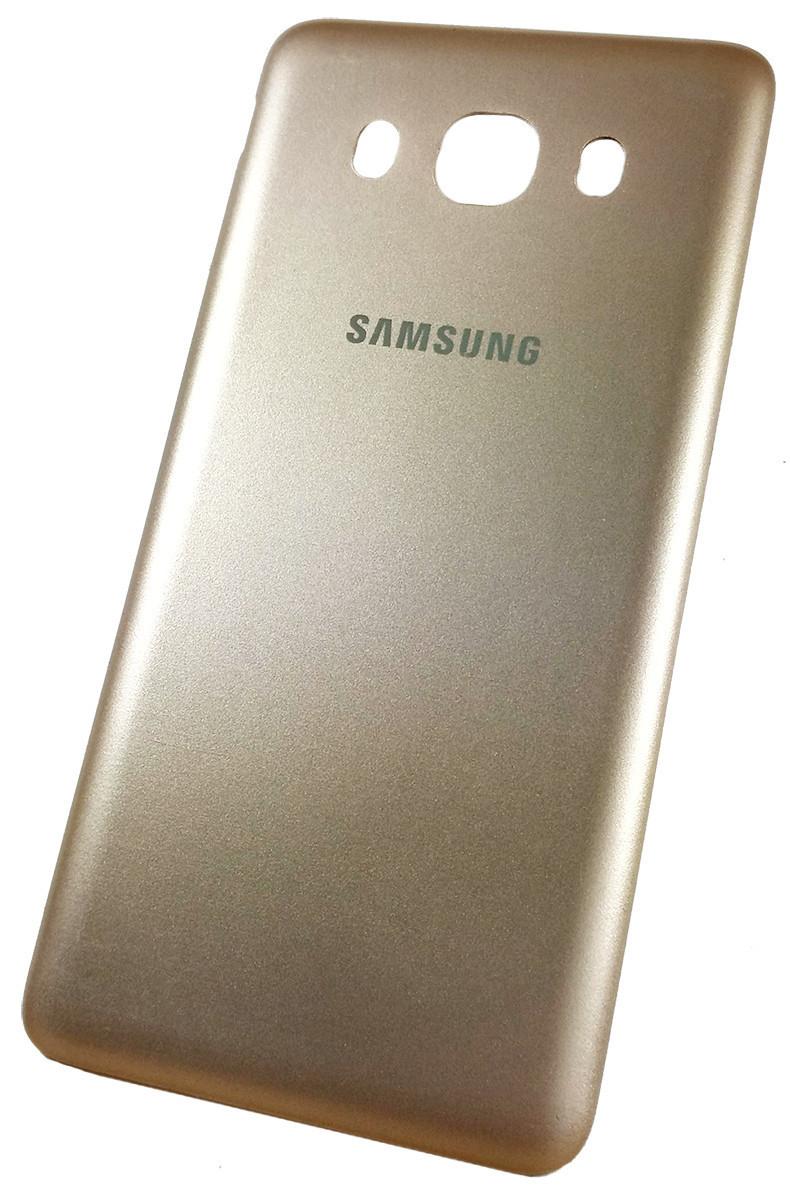 Задняя крышка Samsung Galaxy J5 (J510H, 2016) gold, сменная панель самсунг