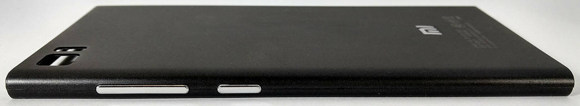 Задняя крышка (панель, корпус) Xiaomi Mi3 black, сменная панель, фото 2