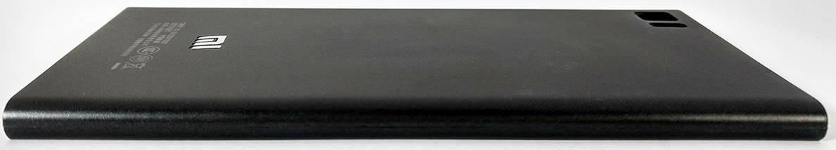 Задняя крышка (панель, корпус) Xiaomi Mi3 black, сменная панель, фото 3