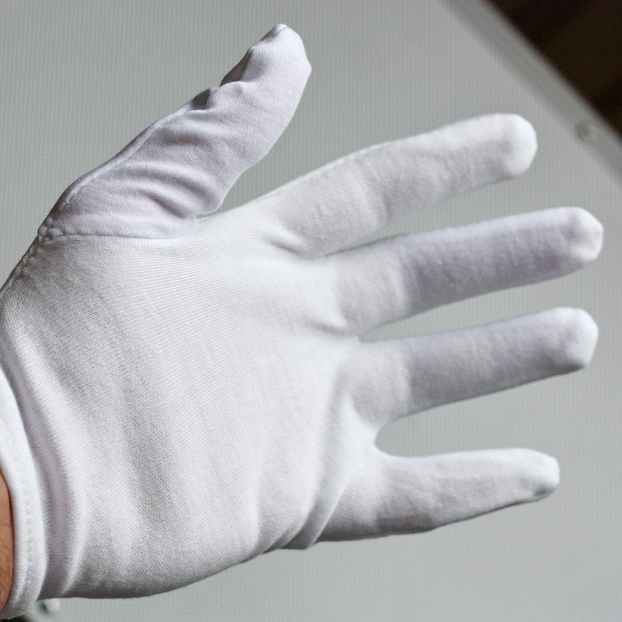 Реквизит для фокусов   Огненные перчатки (белые)