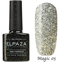 Гель лак ELPAZA Magic Stars 05 Серебряный Водопад 10 мл