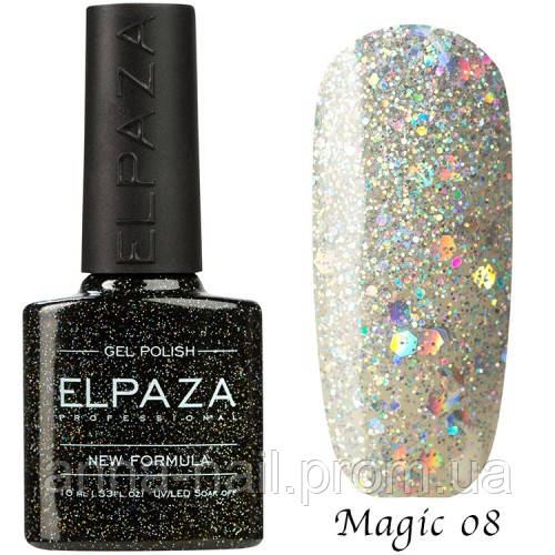 Гель лак ELPAZA Magic Stars 08 Снегурочка 10 мл