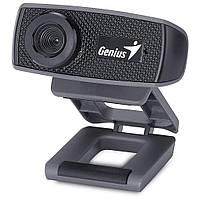 Веб камера Genius FaceCam 1000X Black, 2.0 Mpx, 1600x1200, USB 2.0, встроенный микрофон