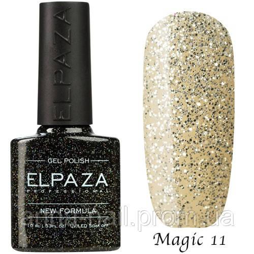 Гель лак ELPAZA Magic Stars 11 Сахарная Крошка 10 мл