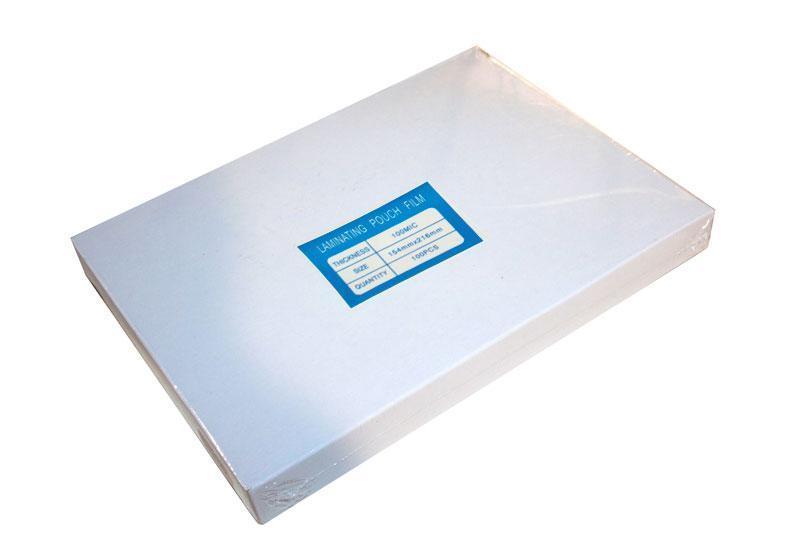 Пленка А5 (154x216), 100 micron (50/50), Glossy, 100 листов