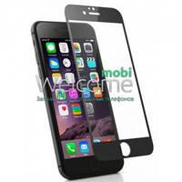 Защитное стекло iPhone 7 (0.3 мм, 3D, черное, полное,с олеофобным покрытием, и покрытием Silk Screen)