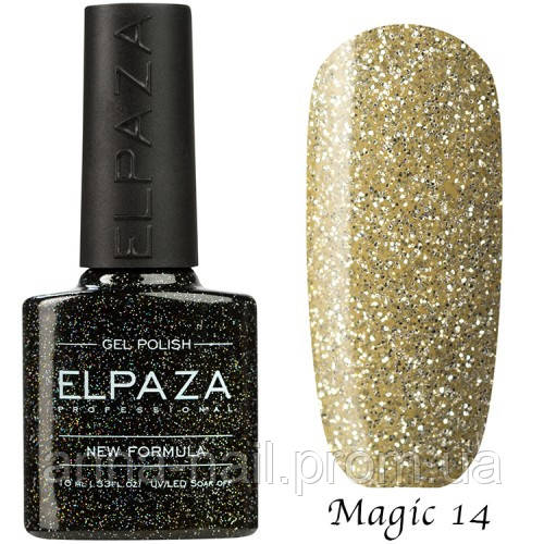 Гель лак ELPAZA Magic Stars 14 Морозное Утро 10 мл