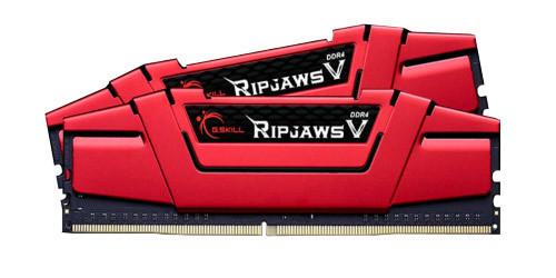 Оперативная память для компьютера 4Gb x 2 (8Gb Kit) DDR4, 3000 MHz, G.Skill Ripjaws V, 15-15-15-35, 1.35V