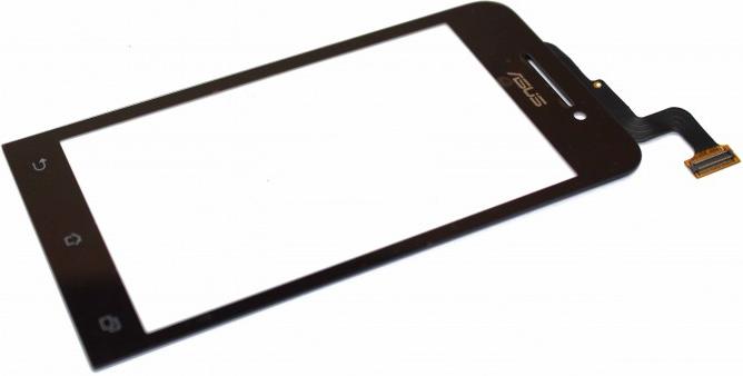 Сенсор ASUS ZenFone 4 black, тач скрин Асус Зенфон