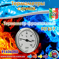 Термометр фронтальный пластик CEWAL PST63P ∅63, 0÷120°С