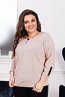 Женская блузка (р.52-56) купить оптом, фото 1