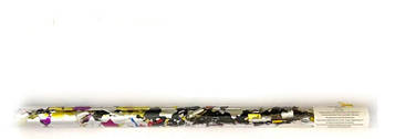 Конфетти в тубе 7440 35см цветная фольга