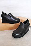 Туфли женские черные L&L А86-4