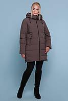 ЖЕНСКАЯ зимняя куртка с капюшоном   18-051-Б