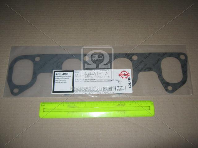 Прокладка коллектора FORD 1.8D/1.8TD/1.8DI/1.8TDDI/1.8TDCI RFD/F9DA/F9DB/KKDA (1) (пр-во Elring) 406.490