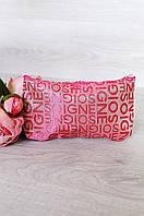 Косметичка женская розовая 20 х 9 см 011-5