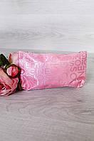 Косметичка женская розовая 20 х 9 см 011-6