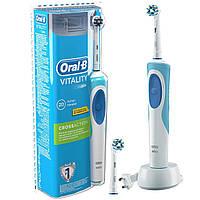 Зубная щетка электрическая  на аккумуляторе Oral-B Vitality 2d cross action