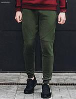Мужские спортивные штаны хаки Staff  tech haki fleece, фото 1