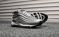 Мужские зимние кроссовки на меху Nike Air Max 97 Silver