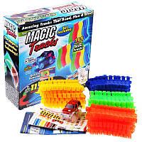 Гибкий светящийся трек Magic Track с машинкой 165, фото 1