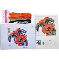 Набор для вышивки А4 нитки                                                                   Артикул:  VK-8835, фото 3