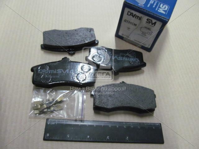 Колодки тормозные диск. ОКА ВАЗ-1111 (пр-во Dafmi) D131SM
