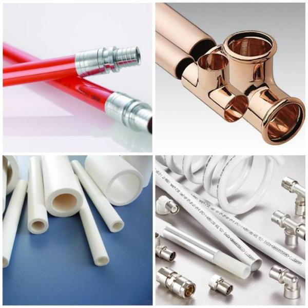 виды труб для отопления