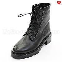 Женские ботинки в клёпках Sasha Fabiani, фото 1