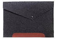 Фетровый чехол-конверт Gmakin для Macbook Pro 13 New (GM11_13New)