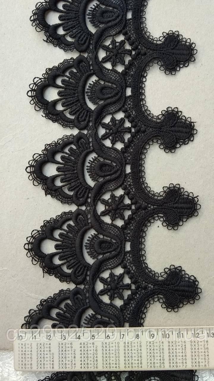 Кружево макраме пики