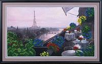 Набор для вышивки бисером Вечерний Париж Б-074 МК