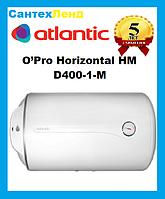 Водонагреватель Бойлер Atlantic O'Pro Horizontal HM 100 D400-1-M Мокрый Тэн