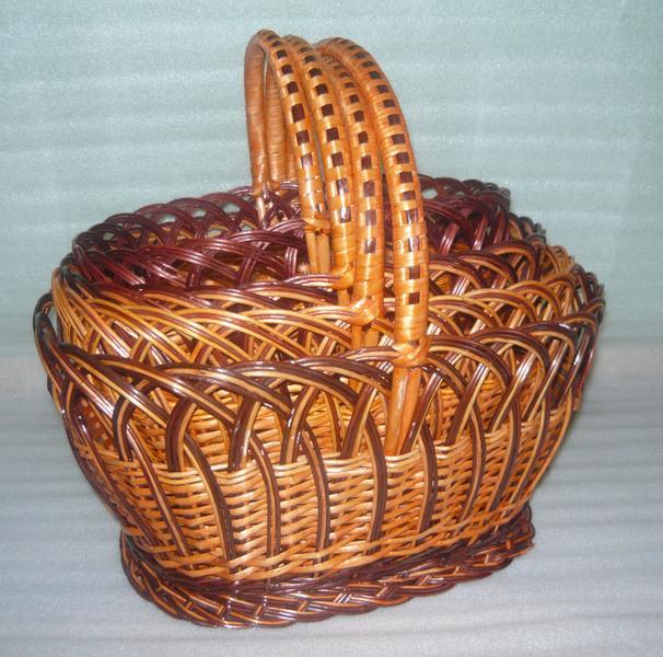 Наборы плетеных корзин из лозы