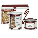 Эпоксидная смола,  Borma Glass 2K (Quick-Y Catalyst), Borma Wachs, Interiors Line, прозрачная, 1 литр + 500 мл, фото 3