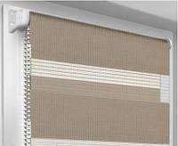 Тканевые  ролеты (рулонные шторы) VEGAS Mini DN (День-Ночь)